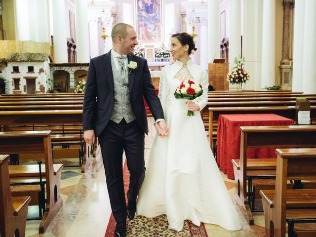 Il matrimonio di Dario e Elena a Crocetta del Montello, Treviso 11