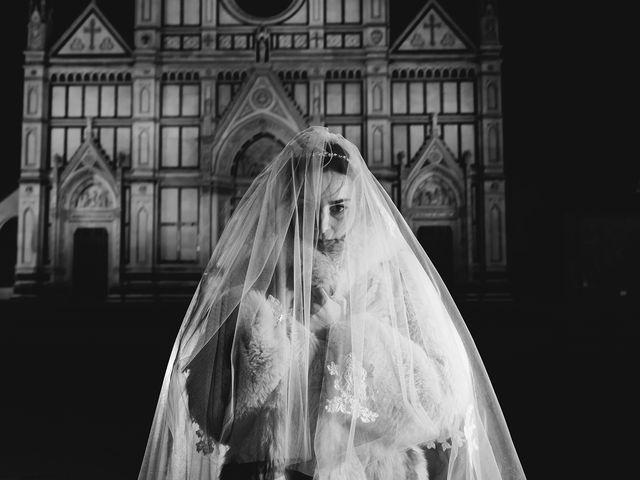 Il matrimonio di Claudio e Greta a Firenze, Firenze 79