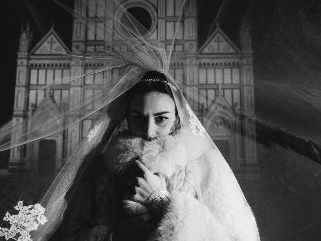 Il matrimonio di Claudio e Greta a Firenze, Firenze 80