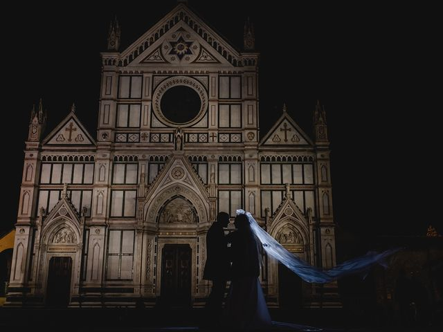 Il matrimonio di Claudio e Greta a Firenze, Firenze 81