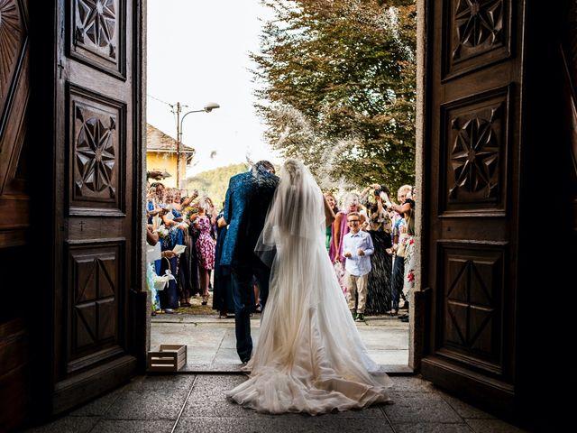 Il matrimonio di Jacopo e Giada a Quarna Sopra, Verbania 31