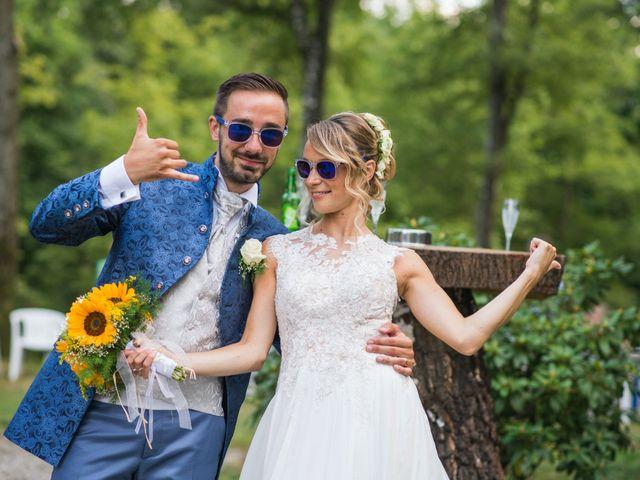 Il matrimonio di Jacopo e Giada a Quarna Sopra, Verbania 37