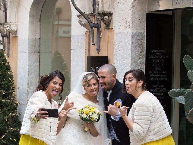 Il matrimonio di Giuseppe e Alessia a Taormina, Messina 10