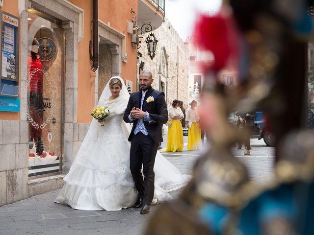 Il matrimonio di Giuseppe e Alessia a Taormina, Messina 24