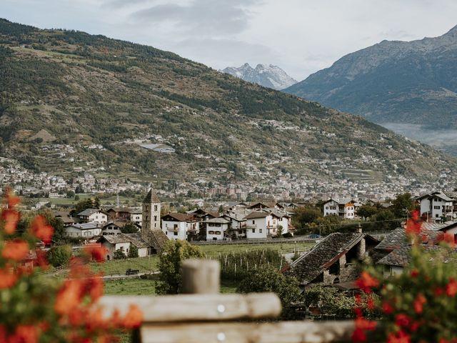 Il matrimonio di Andrea e Giulia a Aosta, Aosta 2