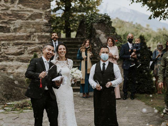 Il matrimonio di Andrea e Giulia a Aosta, Aosta 24