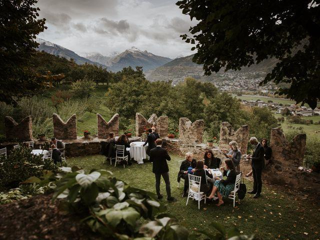Il matrimonio di Andrea e Giulia a Aosta, Aosta 31