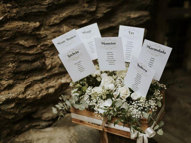 Il matrimonio di Andrea e Giulia a Aosta, Aosta 34