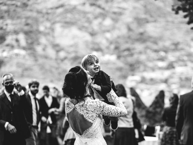 Il matrimonio di Andrea e Giulia a Aosta, Aosta 38