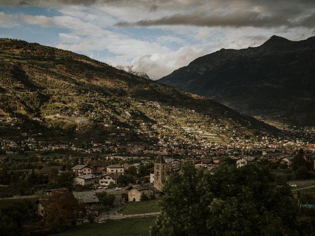 Il matrimonio di Andrea e Giulia a Aosta, Aosta 42