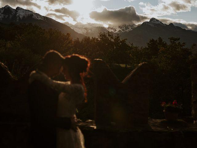 Il matrimonio di Andrea e Giulia a Aosta, Aosta 48