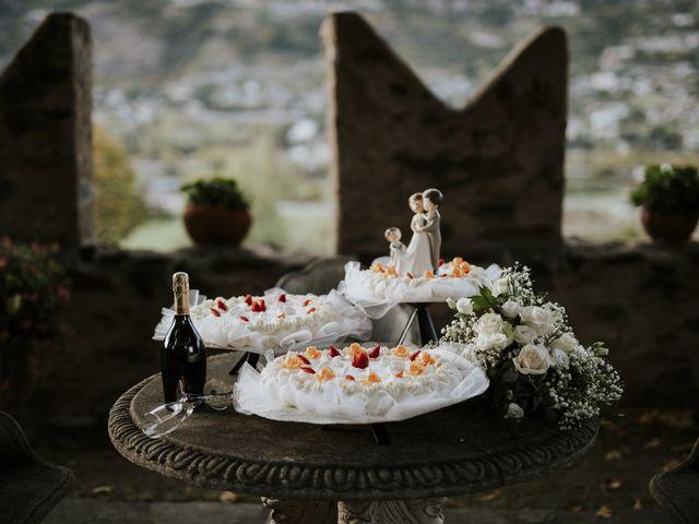 Il matrimonio di Andrea e Giulia a Aosta, Aosta 49