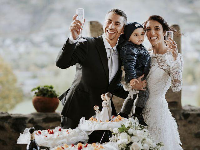 Il matrimonio di Andrea e Giulia a Aosta, Aosta 50