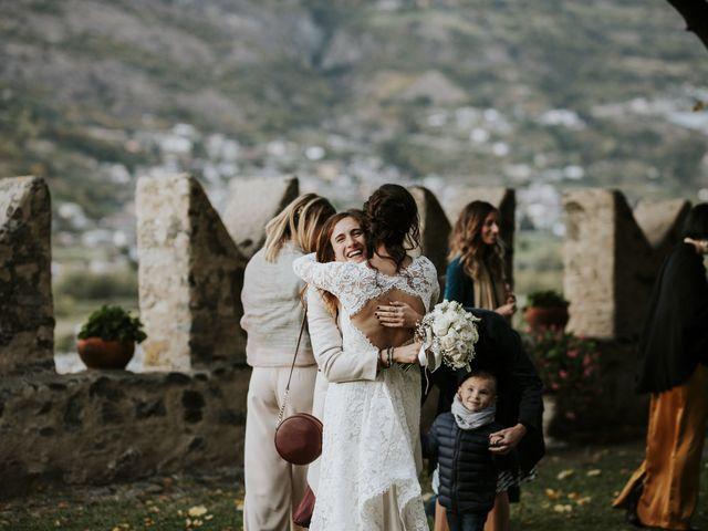 Il matrimonio di Andrea e Giulia a Aosta, Aosta 52