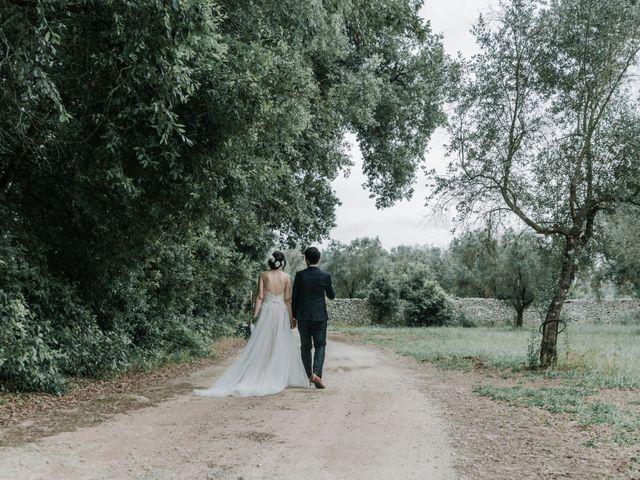 Il matrimonio di Wisarut e Serena a Lecce, Lecce 71