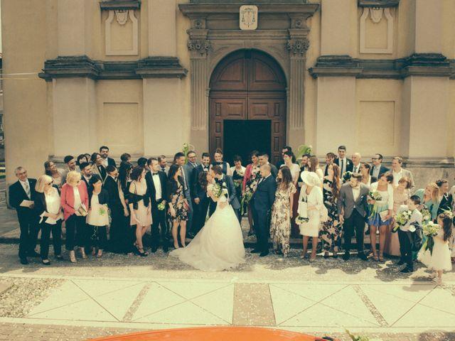 Il matrimonio di Fabio e Gloria a Nembro, Bergamo 54