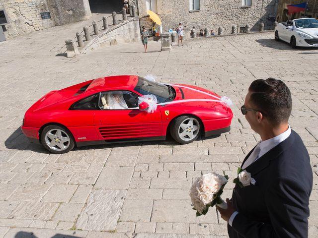 Il matrimonio di Andrea e Nadia a San Marino, San Marino 8