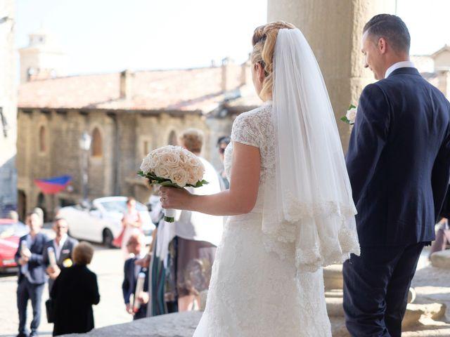 Il matrimonio di Andrea e Nadia a San Marino, San Marino 19