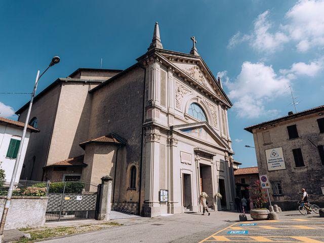 Il matrimonio di Gabriele e Elena a Villa Guardia, Como 29