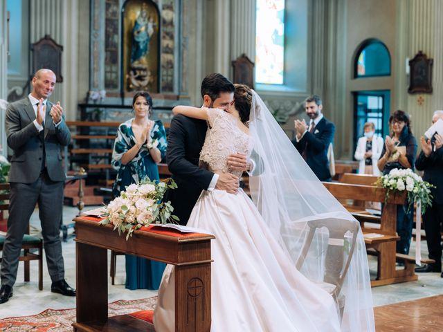 Il matrimonio di Gabriele e Elena a Villa Guardia, Como 60