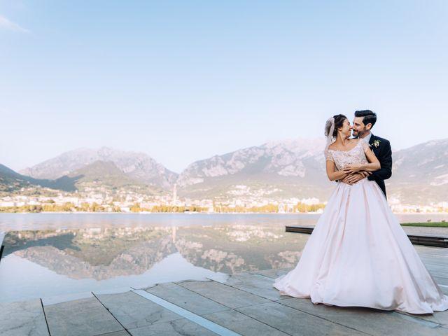 Il matrimonio di Gabriele e Elena a Villa Guardia, Como 73