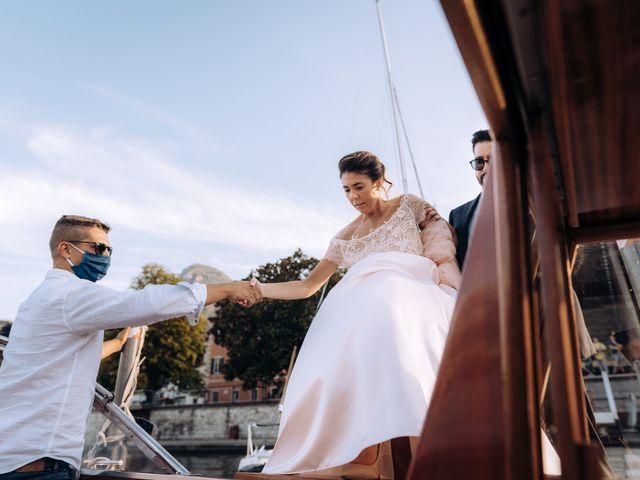 Il matrimonio di Gabriele e Elena a Villa Guardia, Como 74