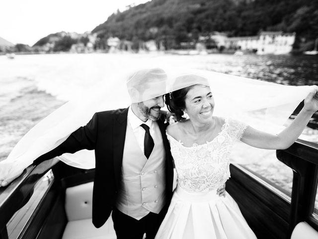 Il matrimonio di Gabriele e Elena a Villa Guardia, Como 79