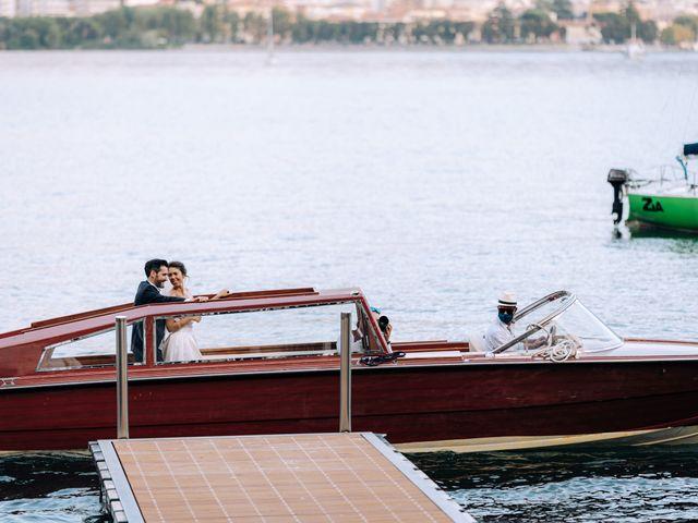 Il matrimonio di Gabriele e Elena a Villa Guardia, Como 81