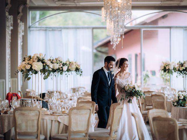 Il matrimonio di Gabriele e Elena a Villa Guardia, Como 84