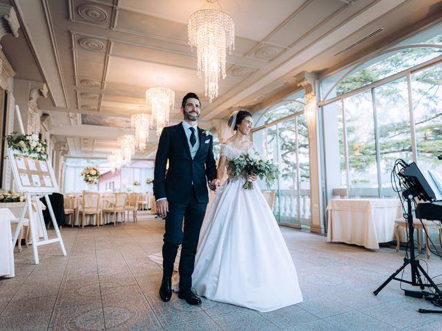 Il matrimonio di Gabriele e Elena a Villa Guardia, Como 86