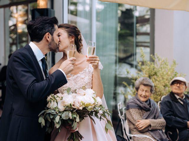 Il matrimonio di Gabriele e Elena a Villa Guardia, Como 91
