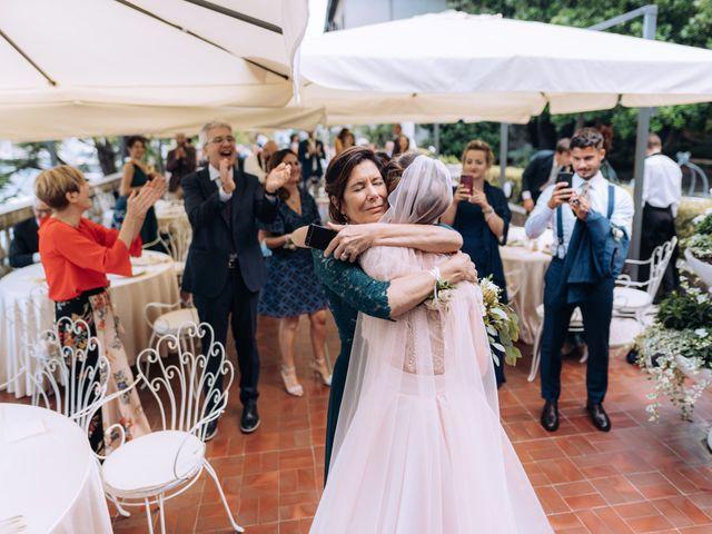 Il matrimonio di Gabriele e Elena a Villa Guardia, Como 92