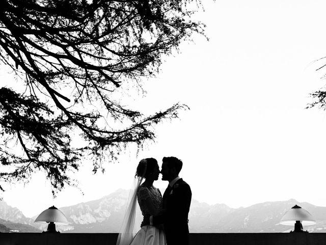 Il matrimonio di Gabriele e Elena a Villa Guardia, Como 96