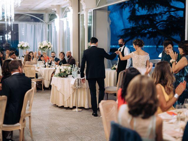 Il matrimonio di Gabriele e Elena a Villa Guardia, Como 101