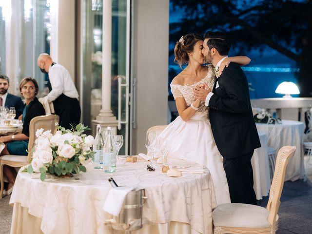 Il matrimonio di Gabriele e Elena a Villa Guardia, Como 102