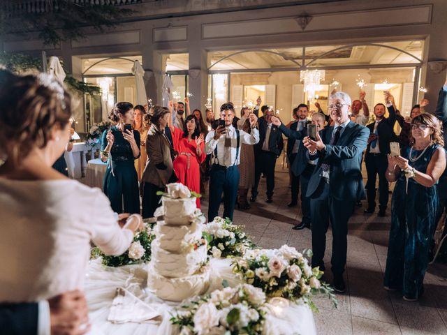 Il matrimonio di Gabriele e Elena a Villa Guardia, Como 107
