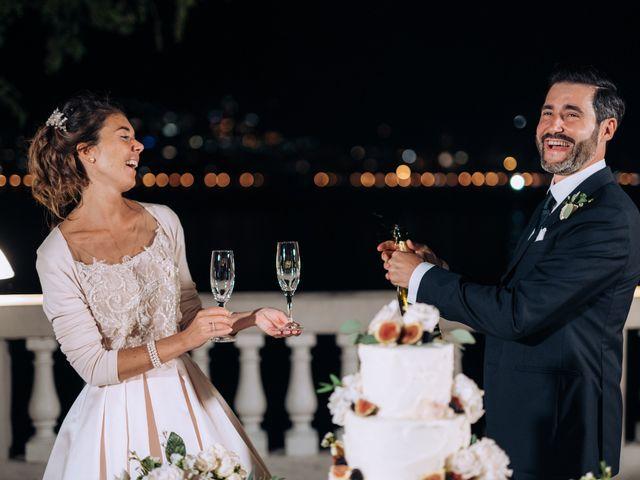 Il matrimonio di Gabriele e Elena a Villa Guardia, Como 111