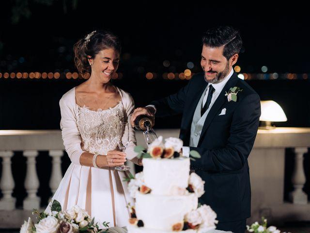 Il matrimonio di Gabriele e Elena a Villa Guardia, Como 112