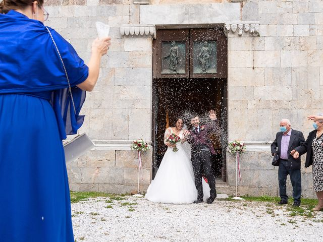 Il matrimonio di Andrea e Veronica a Pietrasanta, Lucca 36