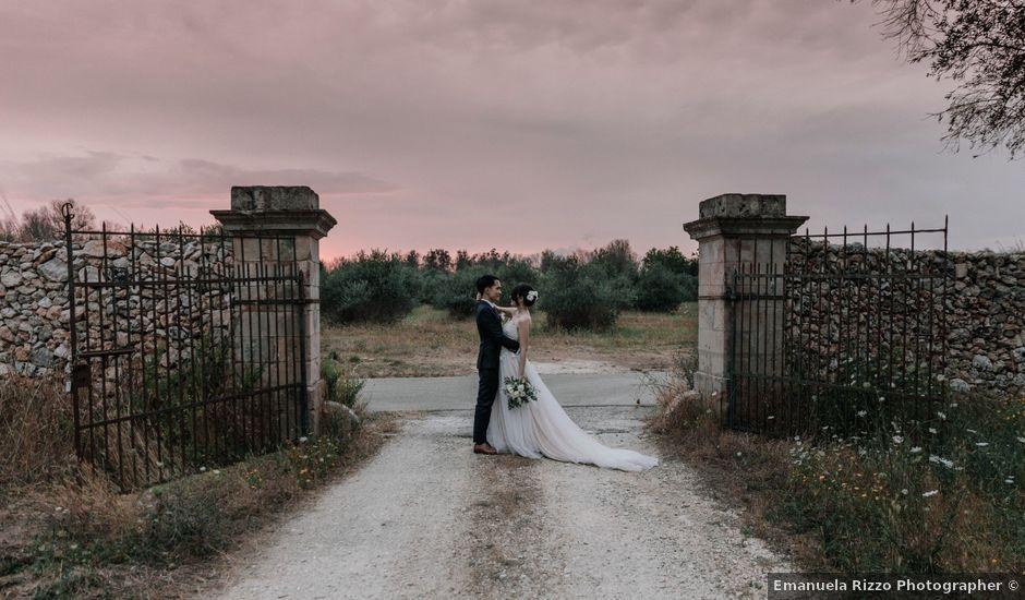 Il matrimonio di Wisarut e Serena a Lecce, Lecce