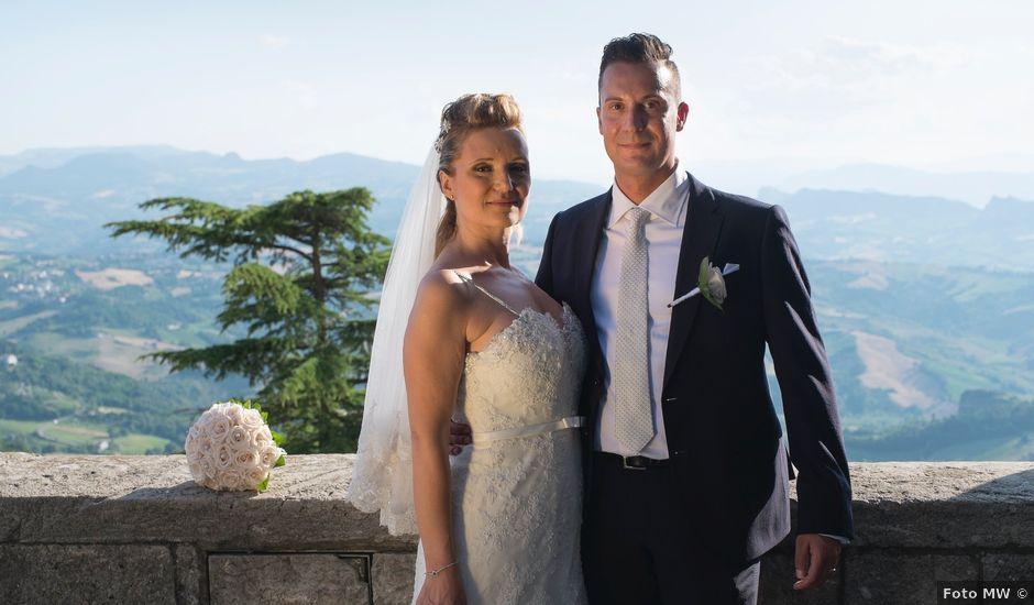 Il matrimonio di Andrea e Nadia a San Marino, San Marino