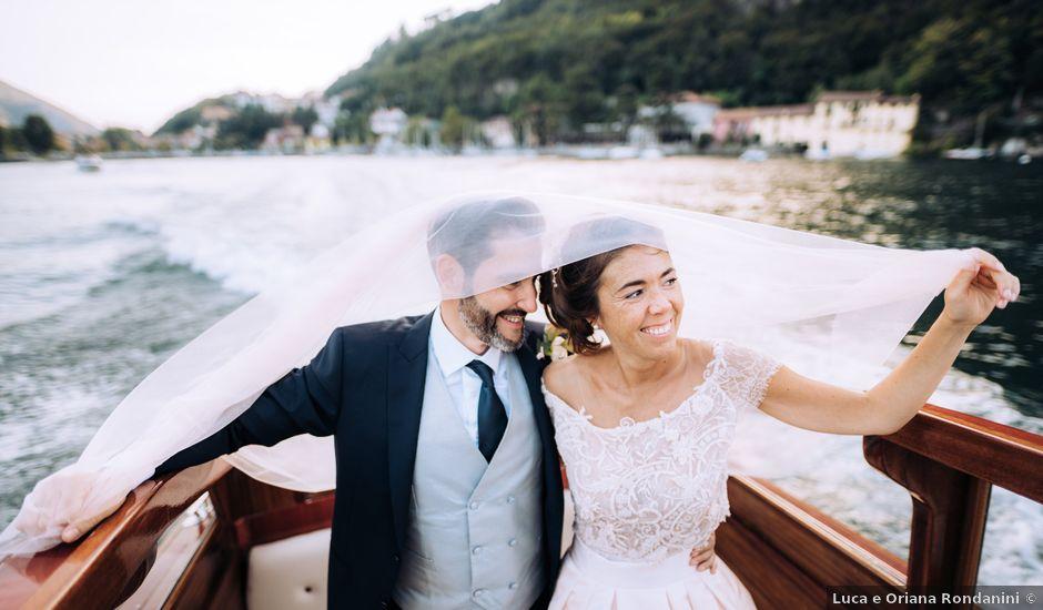 Il matrimonio di Gabriele e Elena a Villa Guardia, Como