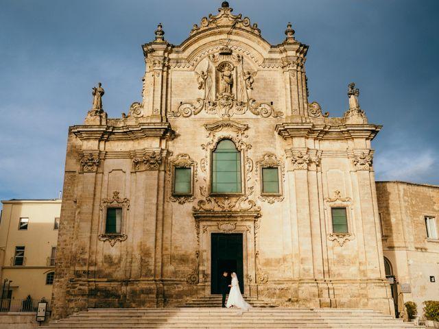 Il matrimonio di Vincenzo e Elisabetta a Matera, Matera 4