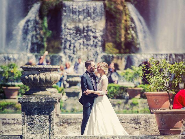 Il matrimonio di Federico e Laura a Tivoli, Roma 2