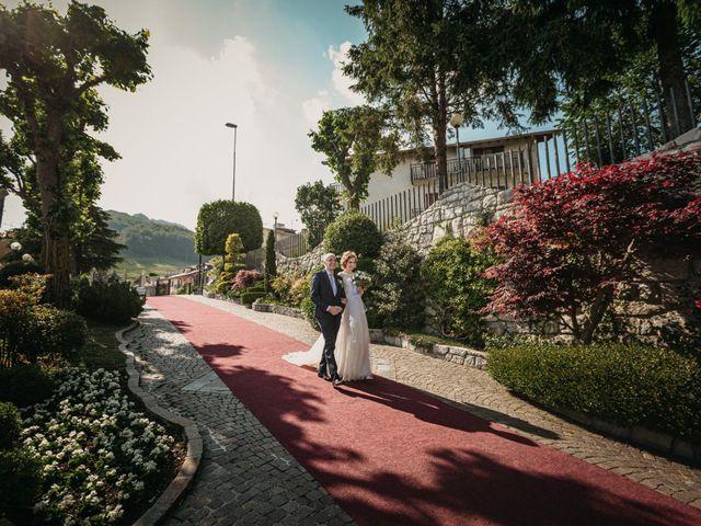 Il matrimonio di Simone e Valeria a Almenno San Bartolomeo, Bergamo 21