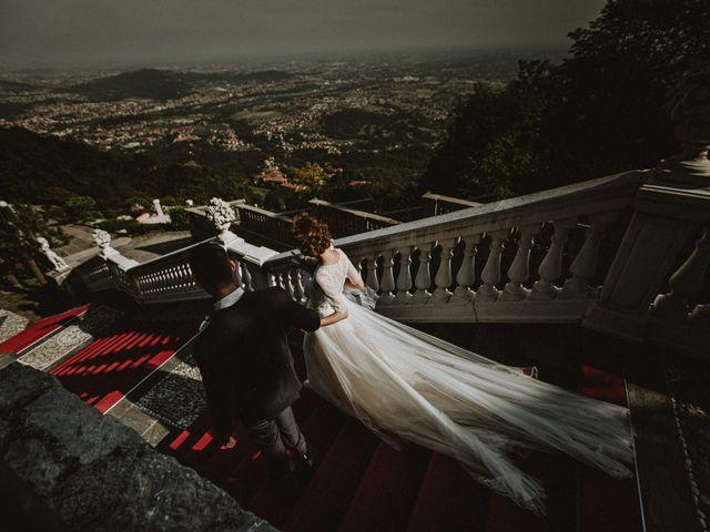 Il matrimonio di Simone e Valeria a Almenno San Bartolomeo, Bergamo 37