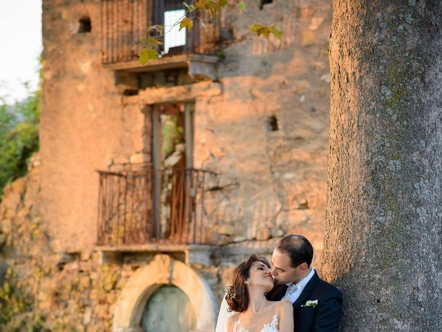 Il matrimonio di Davide e Hilary a Bellosguardo, Salerno 3