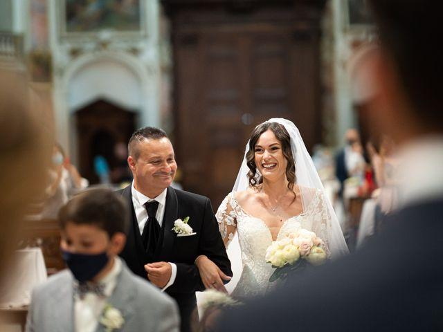 Il matrimonio di Damiano e Veronica a Gussago, Brescia 11