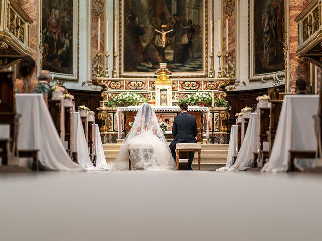 Il matrimonio di Damiano e Veronica a Gussago, Brescia 12