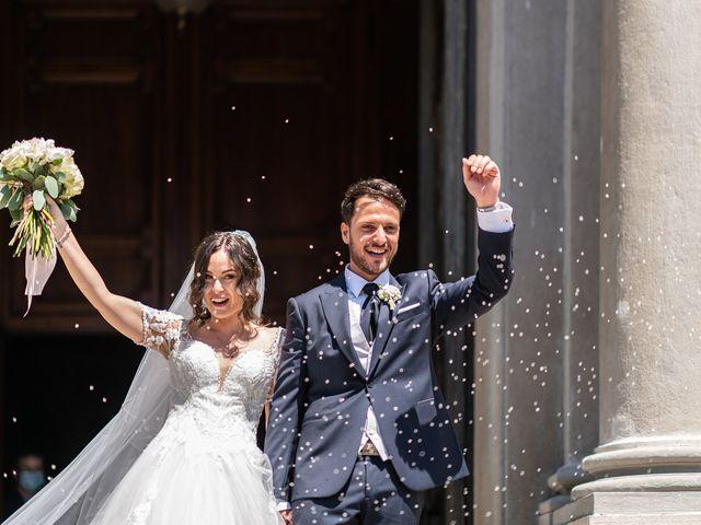 Il matrimonio di Damiano e Veronica a Gussago, Brescia 14